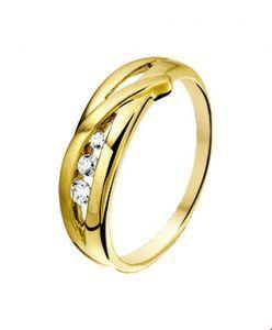 Fantasy collection Ring zirkonia poli/mat - PSN4017599
