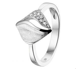 Fantasy collection Ring gescratcht zirkonia poli/mat - PSN1325221