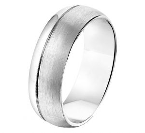 Fantasy collection Ring A112 - 7 mm - zonder cz - PSN1315381
