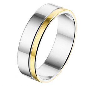 Fantasy collection Ring AL755 - 5 mm - zonder steen - PSN5600151