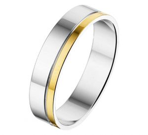 Fantasy collection Ring AL754 - 5 mm - zonder steen - PSN5600156