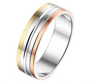 Fantasy collection Ring AL757 - 5 mm - zonder steen - PSN5600196