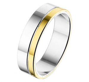 Fantasy collection Ring AL762 - 6 mm - zonder steen - PSN5600226