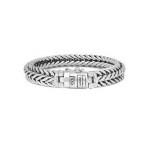 BUDDHA TO BUDDHA armband 065 Nurul Zilver