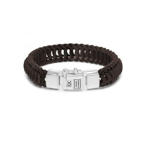Buddha to Buddha armband Lars Leather 122BR