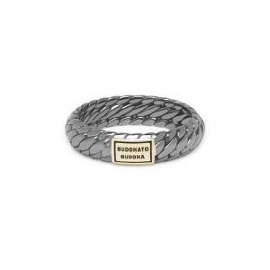BUDDHATO BUDDHA ring 125BR SG Ben XS Rhodium Shine Goud 14kt