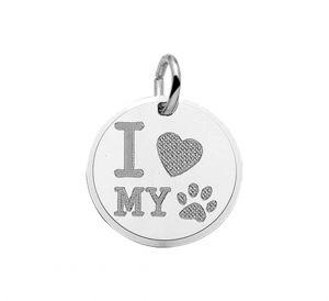 "Graveerhanger  ""I love my dog"" - PSN1323082"