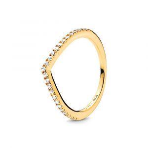 PANDORA Sparkling Wishbone Ring 168758C01