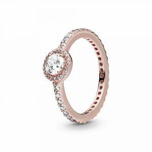 PANDORA Classic Sparkle Halo Ring 180946CZ