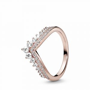 PANDORA Prinses Wishbone Ring 187736CZ