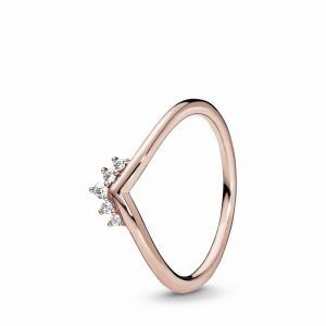 PANDORA Tiara Wishbone Ring 188282CZ