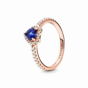 PANDORA Ring Sparkling Heart 188421C01