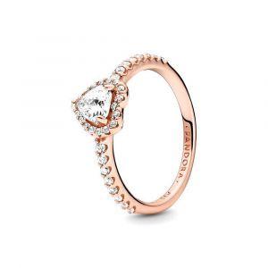 PANDORA Ring Sparkling Heart 188421C02