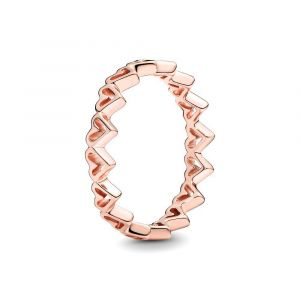 PANDORA Vrije Hand Harten Ring 188696C00