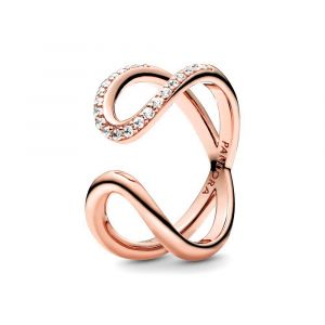 PANDORA Ring Wrapped Open Infinity 188882C01