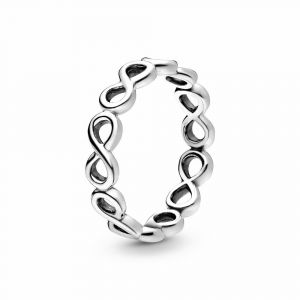PANDORA Simple Infinity Band Ring 190994