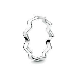 PANDORA Polished Zigzag Ring 197752