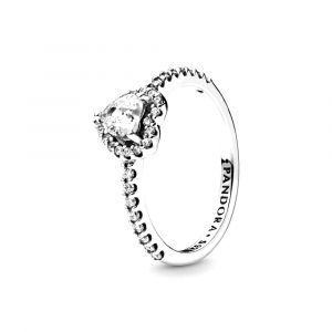 PANDORA Verhoogd Hart Ring 198421C01