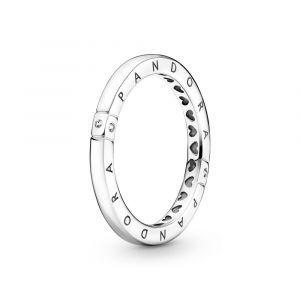 PANDORA Logo & Harten Ring 199482C01