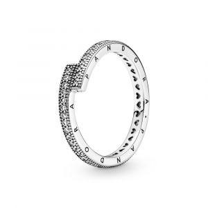PANDORA Sprankelende Overlappende Ring 199491C01