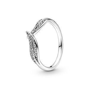 Pandora Sprankelende Bladeren Ring 199533C01