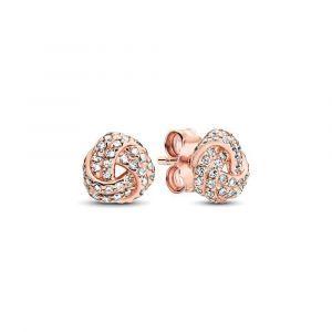PANDORA Shimmering Knot Oorknopjes 280696CZ