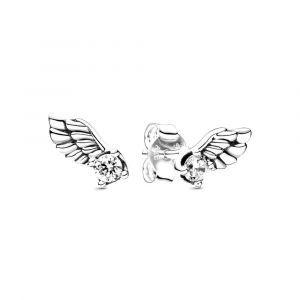 PANDORA Sprankelende Engelenvleugel Oorknopjes 298501C01