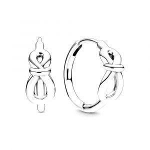 PANDORA Infinity Knot Oorringen 298889C00