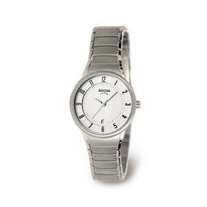 Boccia Titanium 3158-01 horloge - Titanium - Zilverkleurig - 29 mm