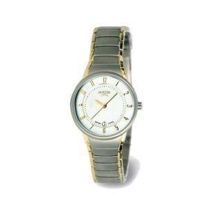 Boccia Titanium 3158-02 horloge - Titanium - Zilver en goudkleurig - 29 mm