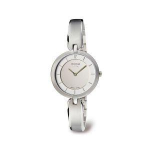 Boccia Titanium 3164-01 horloge - Titanium - Zilverkleurig - 30 mm