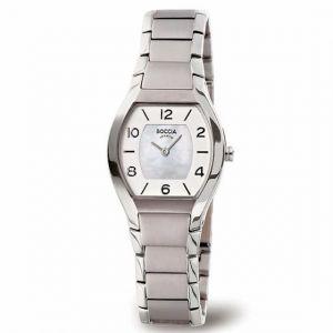 Boccia Titanium 3174-01 horloge - Titanium - Zilverkleurig - 27 mm