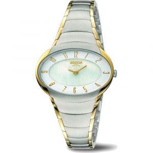 Boccia Titanium 3255-04 horloge - Titanium - Zilverkleurig - 32 mm