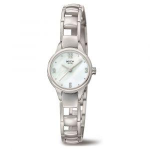 Boccia Titanium 3277-01 horloge - Titanium - Zilverkleurig - 22 mm
