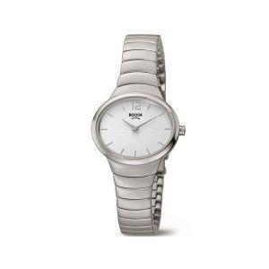 Boccia Titanium 3280-01 horloge - Titanium - Zilverkleurig - 30 mm