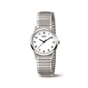 Boccia Titanium 3287-01 horloge - Titanium - Zilverkleurig - 29 mm