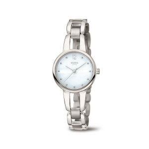 Boccia Titanium 3290-01 horloge - Titanium - Zilverkleurig - 28 mm