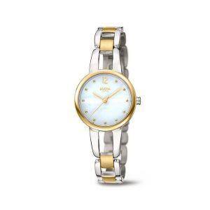 Boccia Titanium 3290-02 horloge - Titanium - Zilver en goudkleurig - 28 mm