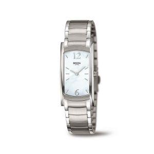 Boccia Titanium 3293-01 horloge - Titanium - Zilverkleurig - 32 mm