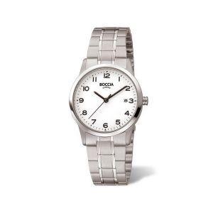 Boccia Titanium 3302-01 horloge - Titanium - Zilverkleurig - 29 mm