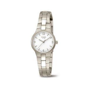 Boccia Titanium 3312-01 horloge - Titanium - Zilverkleurig - 28 mm