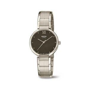 Boccia Titanium 3313-01 horloge - Titanium - Zilverkleurig - 30 mm