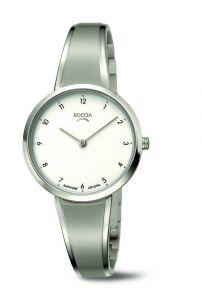 Boccia Titanium 3325-01 Dames Horloge 33 mm