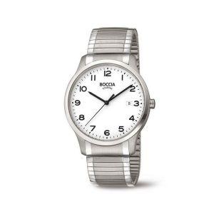 Boccia Titanium 3616-01 horloge - Titanium - Zilverkleurig - 40 mm