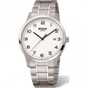 Boccia Titanium 3620-01 horloge - Titanium - Zilverkleurig - 39 mm