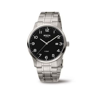 Boccia Titanium 3621-01 horloge - Titanium - Zilverkleurig - 40 mm