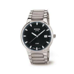 Boccia Titanium 3629-01 horloge - Titanium - Zilverkleurig - 39 mm