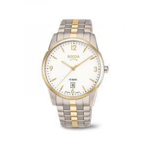 Boccia Titanium 3632-02 horloge - Titanium - Zilver en goudkleurig - 39 mm