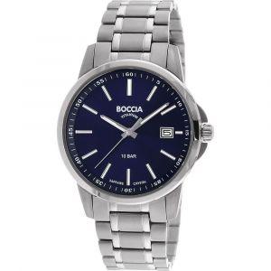 Boccia Titanium 3633-04 horloge - Titanium - Zilverkleurig - 40 mm