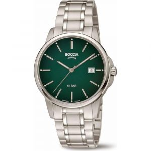 Boccia Titanium 3633-05 horloge - Titanium - Zilverkleurig - 40 mm